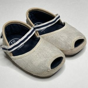 Ro + Me by Robeez Espadrille Bow Sandal Canvas